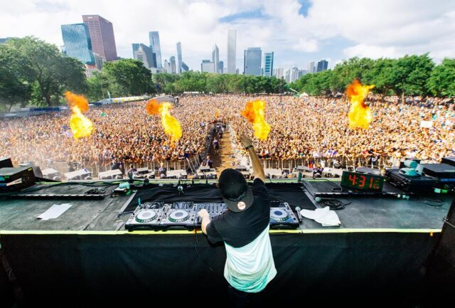 jauz live at lollapalooza 2016