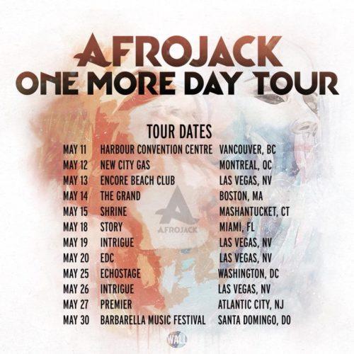 Afrojack Tour Dates