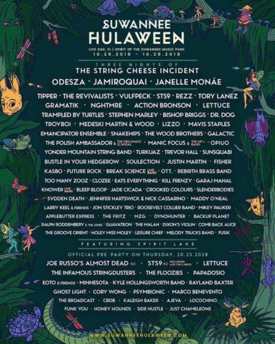Hulaween Lineup 2018